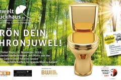 World Toilet Day – 19. November 2019:Throndeckel vorbeibringen, mit Motiv aus der eigenen Galerie edel folieren lassen & Welthungerhilfe helfen, in Uganda Klos zu bauen!