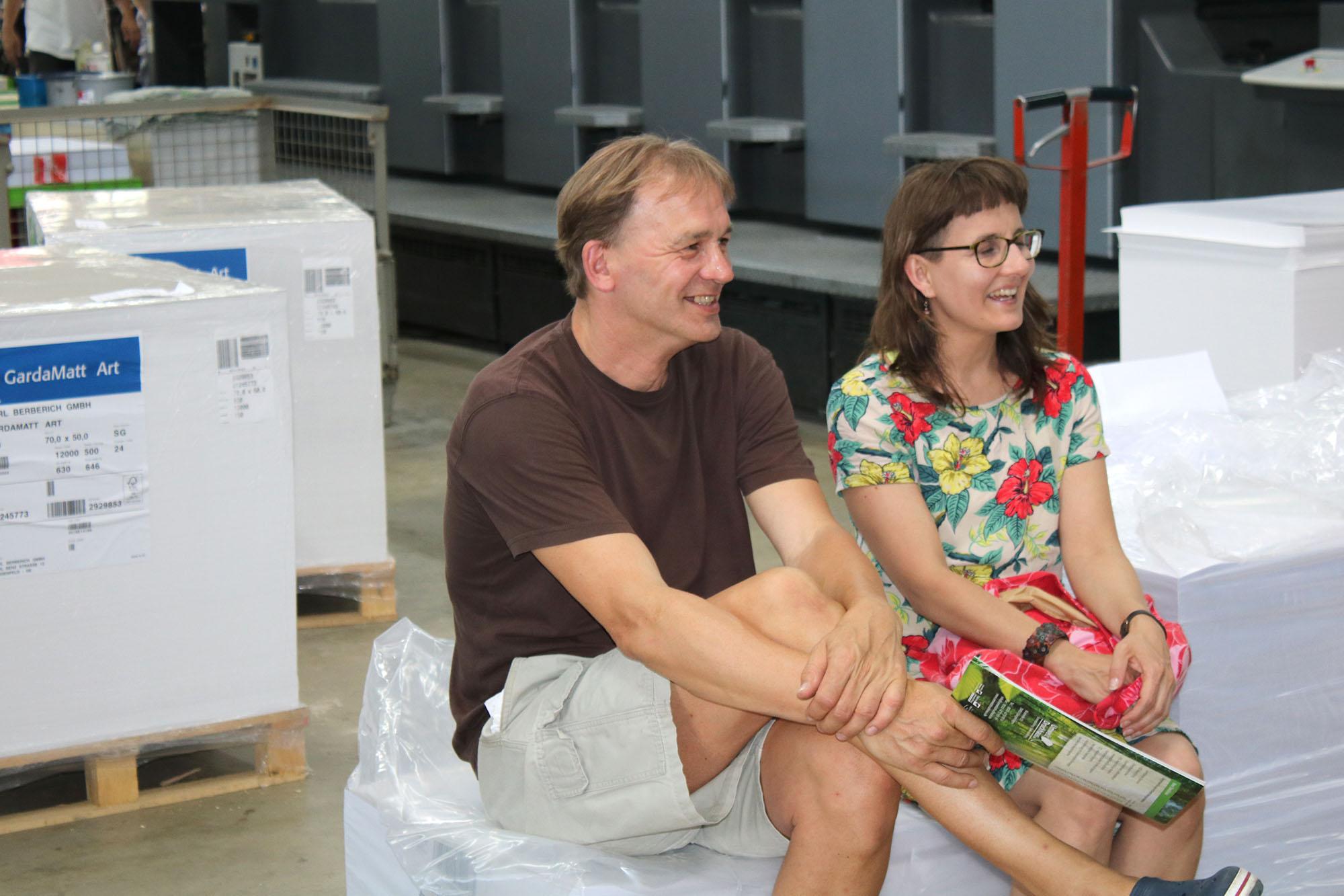 Umweltdruckhaus - Tag der offenen Tür 2018 - Altwarmbüchen