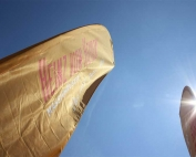 Beachflags Heinz von Heiden