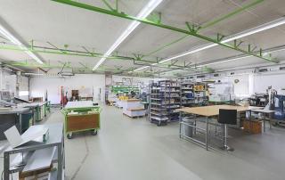UmweltDruckhaus Hannover, Drucksaal offset Langenhagen inkl. Weiterverarbeitung & Lettershop