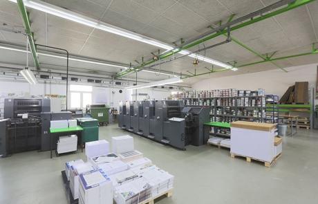 Druckerei Rundgang Umweltdruckhaus Hannover