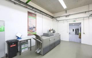 UmweltDruckhaus Hannover, Drucksaal digital Langenhagen