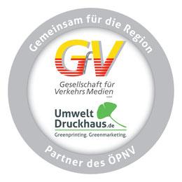 Car Wrapping Partnerlogo ÖPNV für das Umweltdruckhaus Hannover