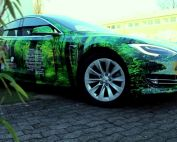 Tesla Model S Vollfolierung Car-Wrapping