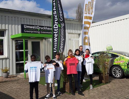 Zukunftstag im UmweltDruckhaus Hannover