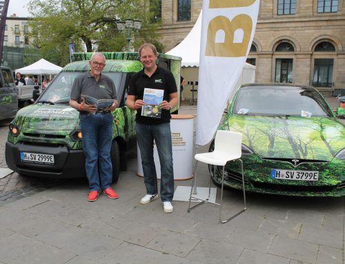 UmweltDruckhaus Hannover beim Tag der e*Mobilität