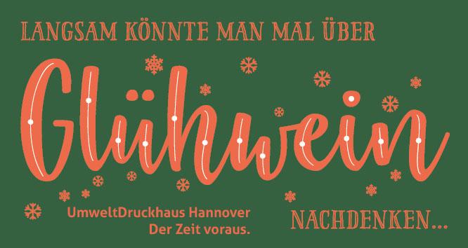 Langsam könnte man mal über Glühwein nachdenken ... Lassen Sie uns dabei auch gleich über Advents-, Weihnachtsgruß- oder Neujahrskarten sprechen ... !